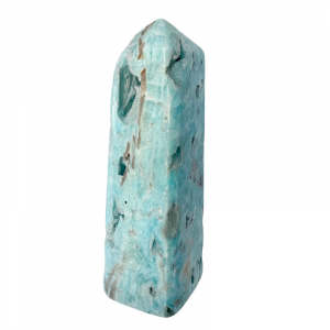 Blue Aragonite Tower $65