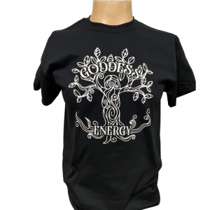 Goddess Energy Shirt Black