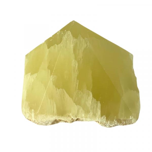 Lemon Calcite Polished Point