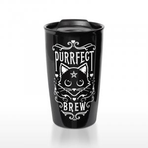 Travel Mug Purrfect Brew