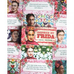Frida Inspired Reading Cards